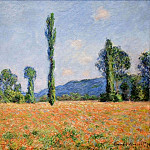 Poppy Field in Giverny 02, Claude Oscar Monet