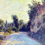Клод Оскар Моне - Road near Giverny 02
