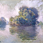 The Islets at Port-Villez, Claude Oscar Monet