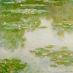 Water Lilies, 1907 15, Claude Oscar Monet