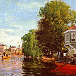 Zaan at Zaandam, Клод Оскар Моне