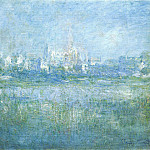 Claude Oscar Monet - Vetheuil in the Fog