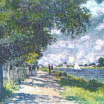 Клод Оскар Моне - The Seine at Argenteuil