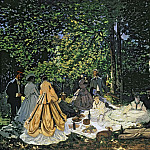 Luncheon on the Grass, Claude Oscar Monet