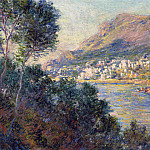 Monte Carlo Seen from Roquebrune, Claude Oscar Monet