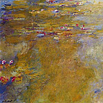 Water Lily Pond, 1917-19 02, Claude Oscar Monet