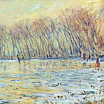 Scaters in Giverny, Claude Oscar Monet