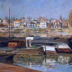 The Seine at Asnieres 01, Клод Оскар Моне