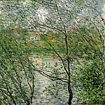 The Isle Grande-Jatte on the Siene, Claude Oscar Monet