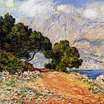 Claude Oscar Monet - Meton Seen from Cap Martin