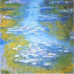 Water Lilies, 1907 02, Claude Oscar Monet