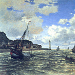 Claude Oscar Monet - The Seine Estuary at Honfluer