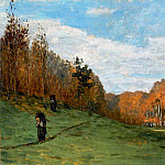 Woodbearers in Fontainebleau Forest, Claude Oscar Monet