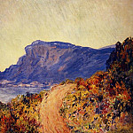 The Red Road at Cap Martin, near Menton, Claude Oscar Monet