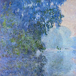 Morning on the Seine 02, Claude Oscar Monet