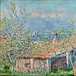 Gardener's House at Antibes, Claude Oscar Monet