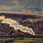 The Train, Claude Oscar Monet
