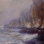 The Effect of Fog near Dieppe, Claude Oscar Monet