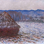 Claude Oscar Monet - Grainstack 2