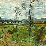 Field at Gennevilliers, Claude Oscar Monet