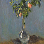Claude Oscar Monet - Flowers in a Vase