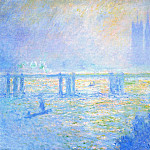 Charing Cross Bridge 03, Claude Oscar Monet