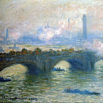 Waterloo Bridge, London, Claude Oscar Monet