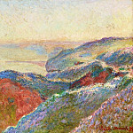 At Val Saint-Nicolas near Dieppe, Morning, Claude Oscar Monet