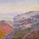 Claude Oscar Monet - Cliff near Dieppe in the Morning