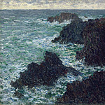 The Cote Sauvate, Claude Oscar Monet