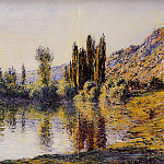 Claude Oscar Monet - The Seine at Vetheuil 2