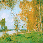 The Spring in Argentuil, Claude Oscar Monet