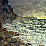 The Sea at Fecamp, 1881 2, Клод Оскар Моне
