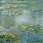 Water Lilies, 1907 07, Claude Oscar Monet
