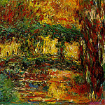 The Japanese bridge, Claude Oscar Monet
