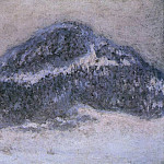 Mount Kolsaas in Misty Weather, Claude Oscar Monet
