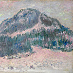 Claude Oscar Monet - Mount Kolsaas, Rose Reflection