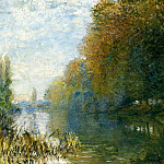 The Banks of The Seine in Autumn, Клод Оскар Моне