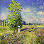 Claude Oscar Monet - The Summer, Poppy Field