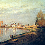 Claude Oscar Monet - The Seine near Bougival