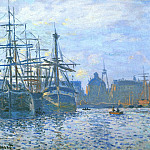 Claude Oscar Monet - Le Havre, Le bassin du commerce
