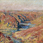 Клод Оскар Моне - The Valley of Creuse at Fresselines