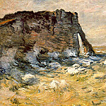 Port d`Aval, Claude Oscar Monet