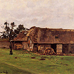 Farm near Honfleur, Claude Oscar Monet