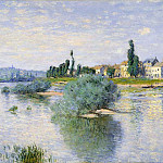 The Seine at Lavacourt, Claude Oscar Monet