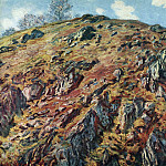 Claude Oscar Monet - Study of Rocks