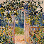 The Garden Gate, Claude Oscar Monet