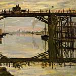 The Wooden Bridge, Claude Oscar Monet
