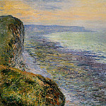 Claude Oscar Monet - Seascape near Fecamp