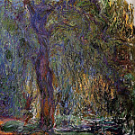 Weeping Willow 3, Claude Oscar Monet
